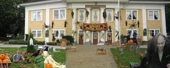 Image result for Halloween fort langley