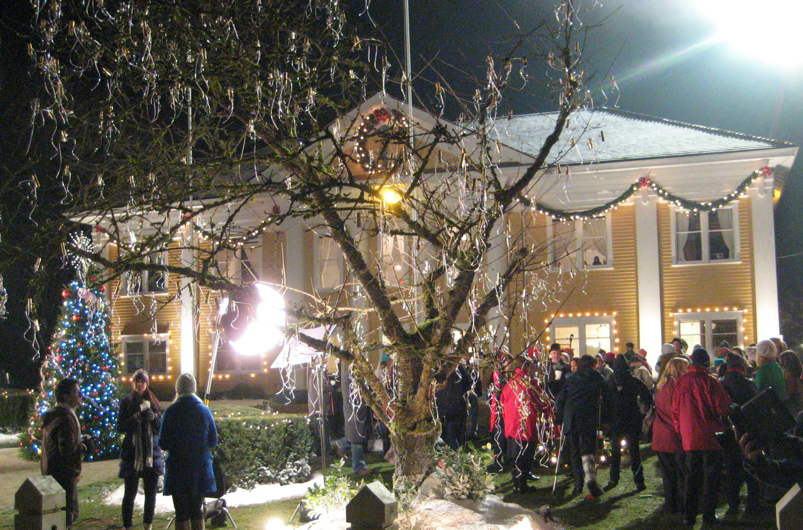 FORT CHRISTMAS: The Wishing Tree in Fort Langley ...