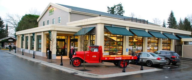 Coca Cola Truck on display for Lee's Market opening