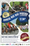 May Day Parade on Monday May 20, 2013 at 11 AM in Fort Langley