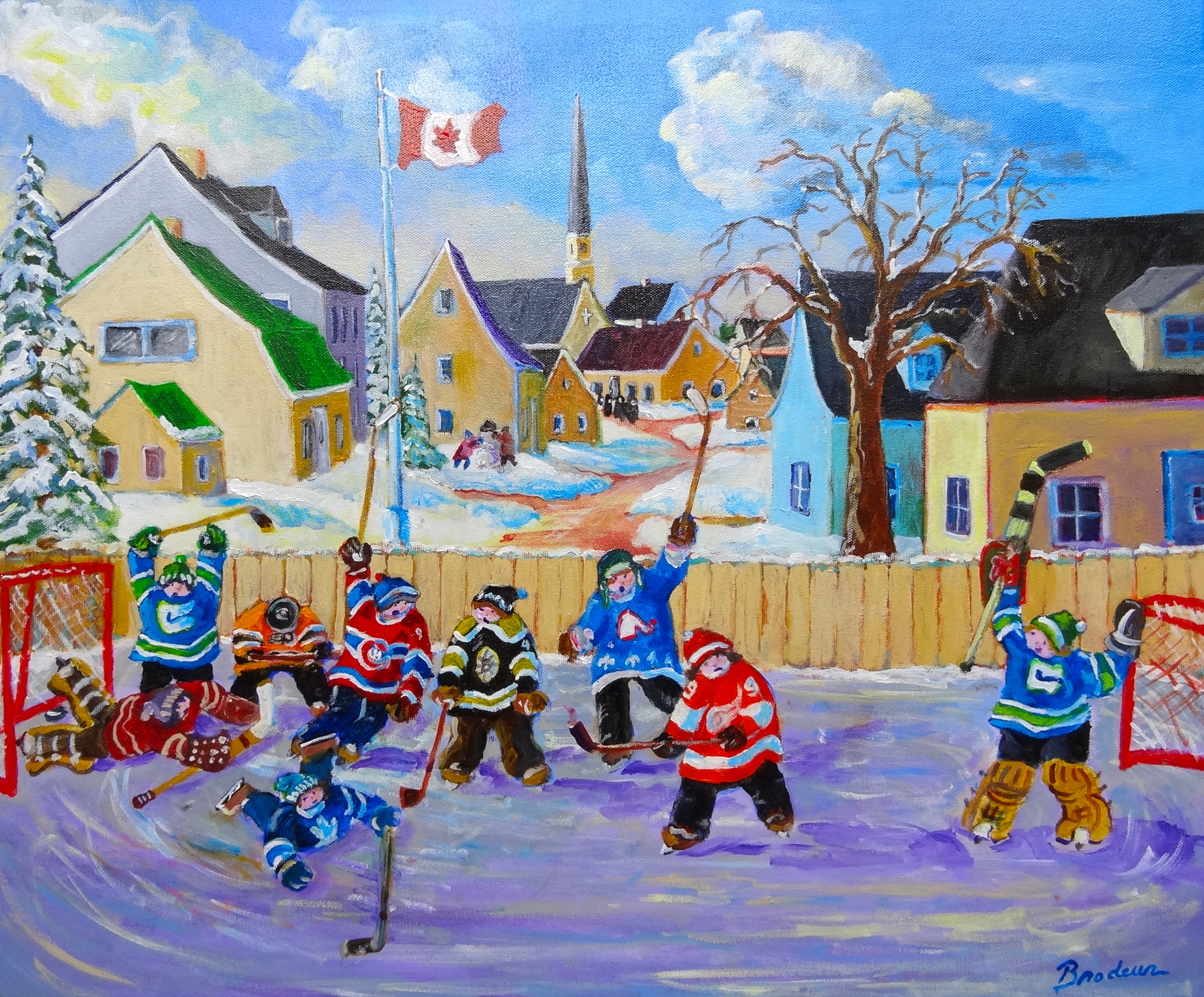 RICHARD BRODEUR: It\'s just like Christmas! | Birthplace of B.C. Gallery