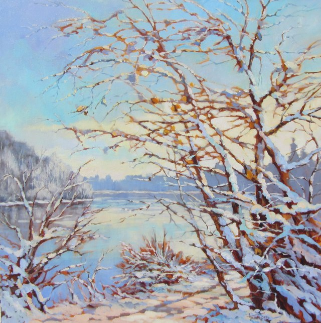 Snow on the Trail (Fort to Fort) by Amanda Jones