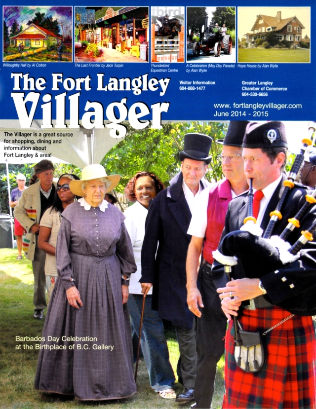 The new edition of the Fort Langley Villager magazine is now available.