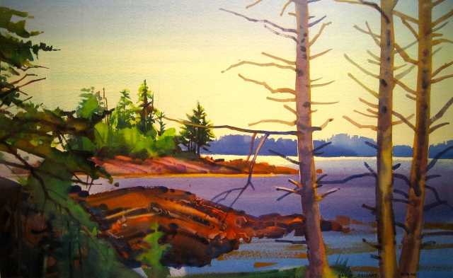 Colorado's Stephen Quiller has written many books on watercolour painting.