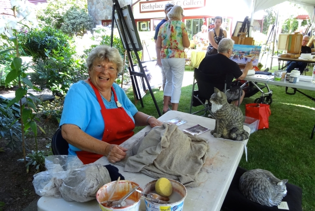Margo Harrison shares her secrets of clay and acrylic creations