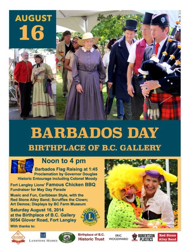 Barbados Day at the Birthplace of B.C Gallery on Sat. August 16, 2014